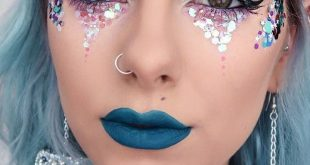 15 + Karneval Make-up, Meerjungfrau, Meerjungfrau Make-up, Meerjungfrau Schmuck